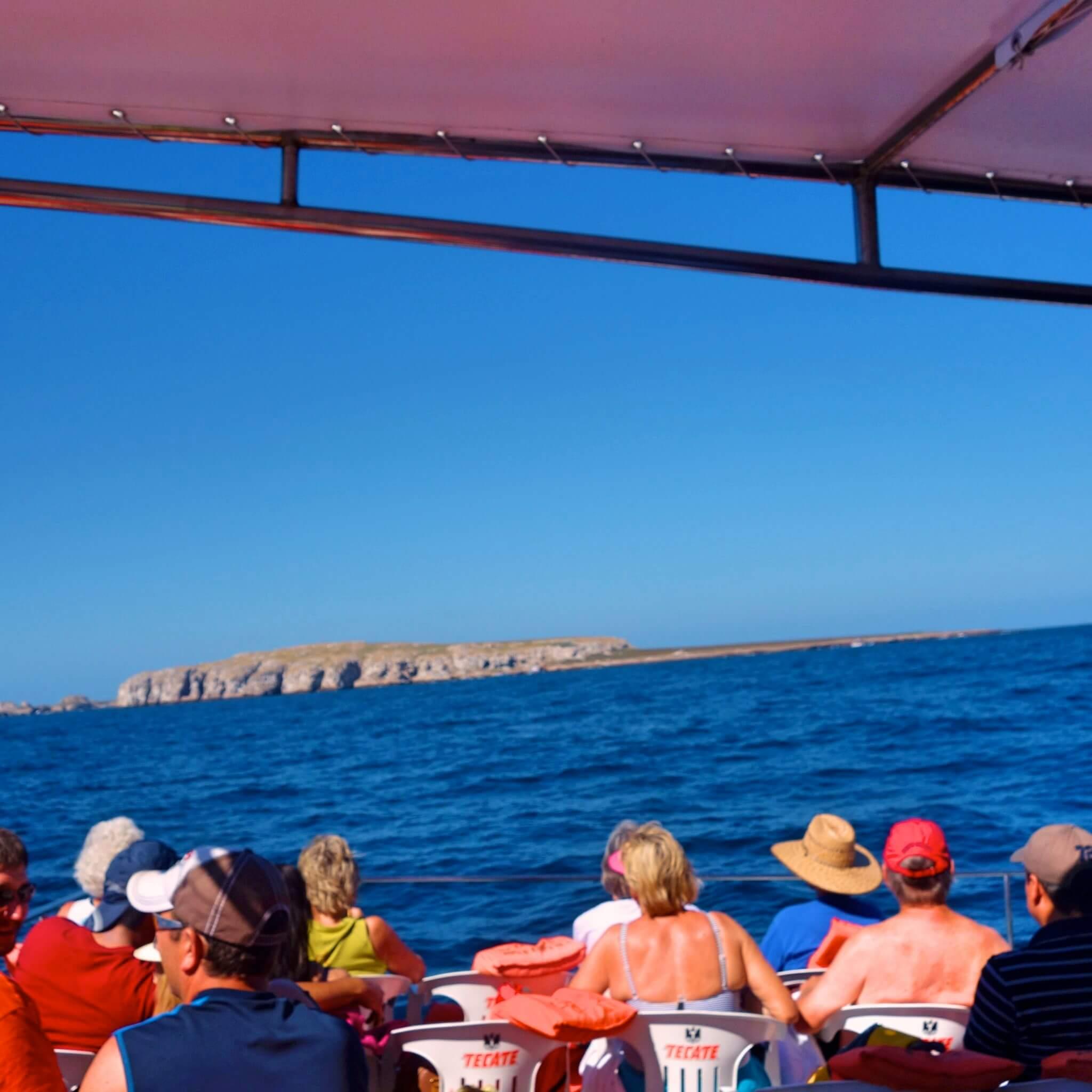紅の豚。マリエータ諸島(プラヤデルアモール)上陸!絶景ポイントまでの泳ぎ方⁉︎