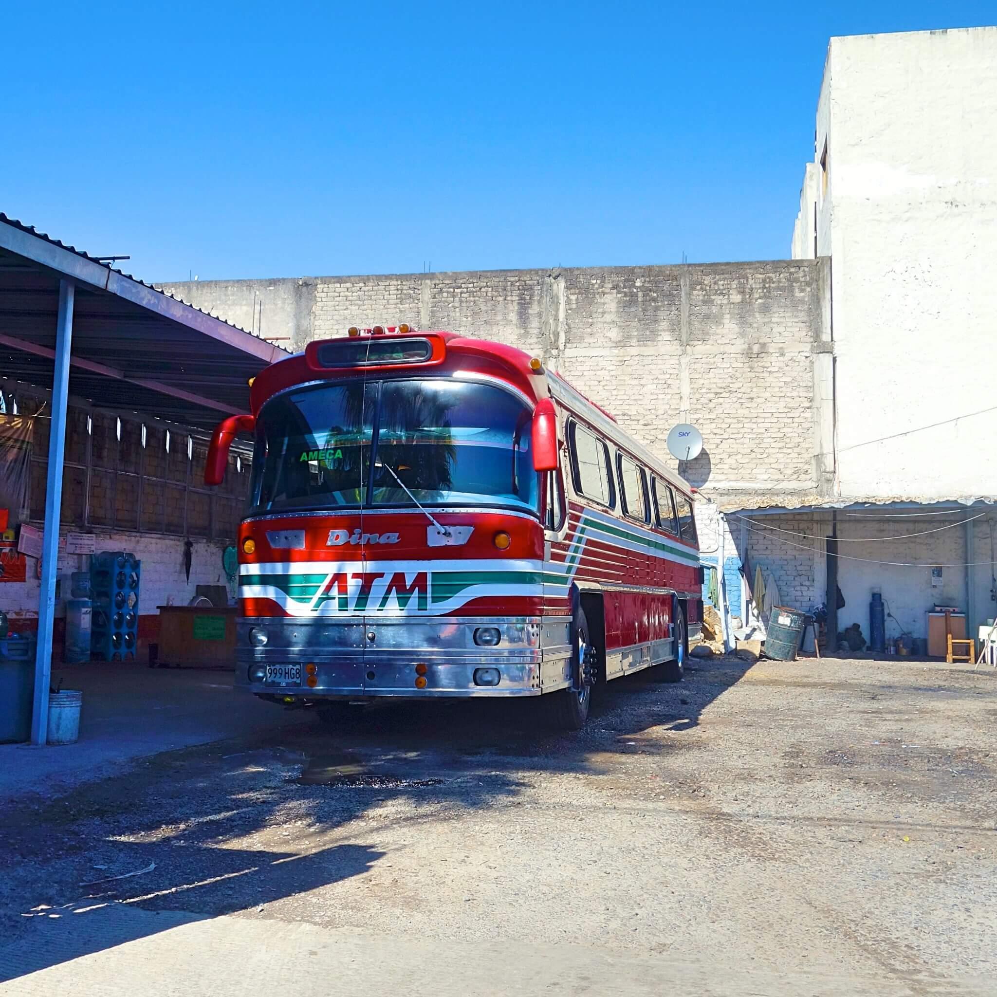 安全にグアダラハラへ!中央バスターミナルへの行き方と長距離バスの乗り方