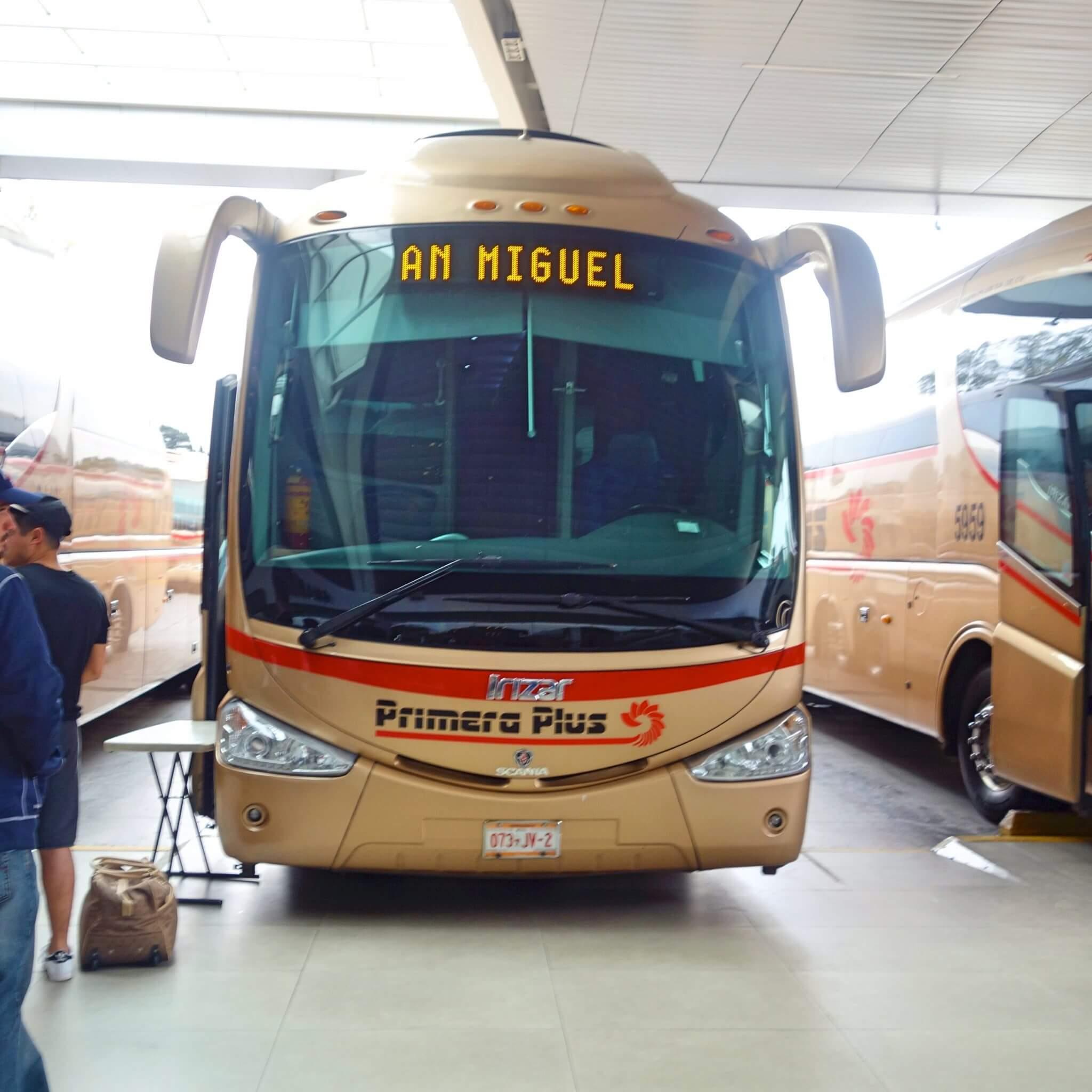 グアダラハラの街中→中央バスターミナル→グアナファトへの移動まとめ
